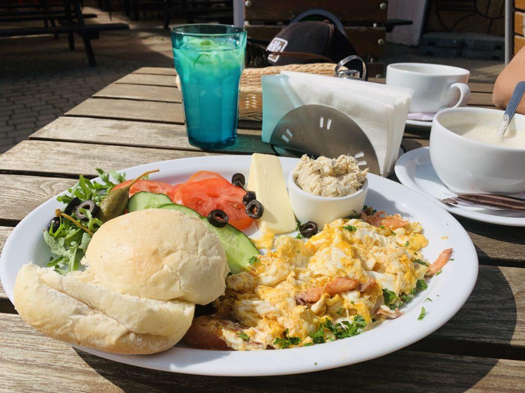 Frühstück bei Ryby Zubowicz
