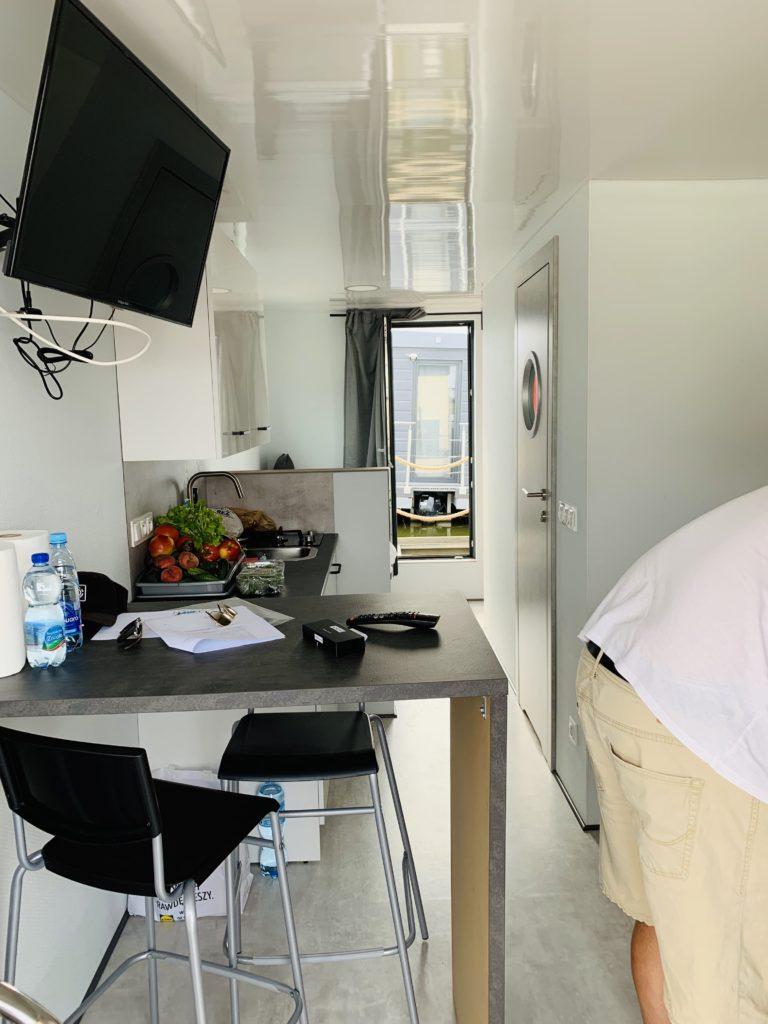 Hausboot Bugatti - Küche