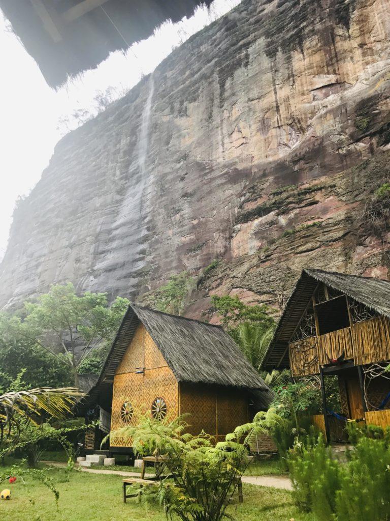 Hütten von Abdi Homestay in Harau Valley auf Sumatra
