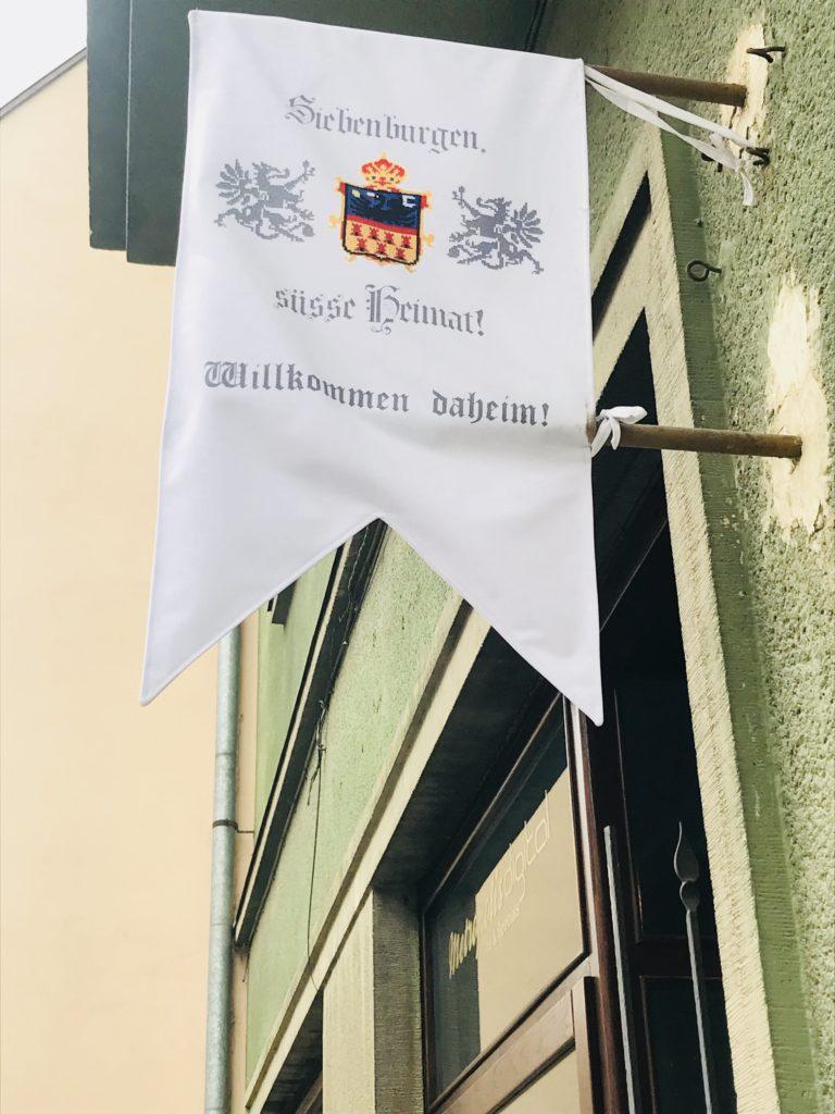 Deutsches Aushängeschild in Sibiu