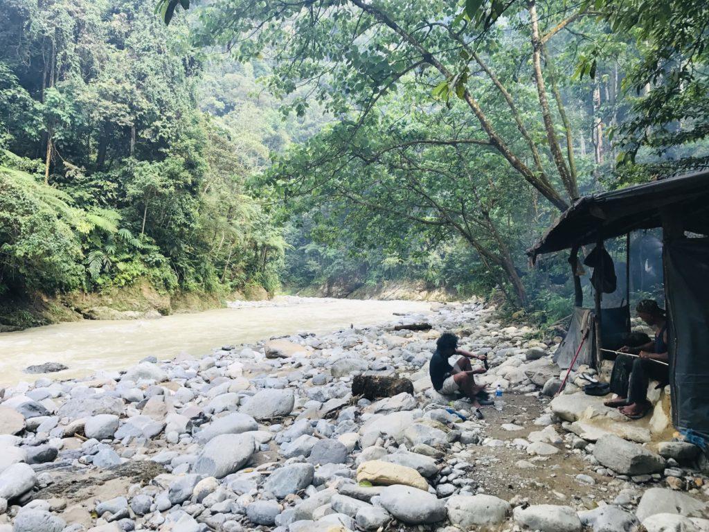 Übernachtungscamp im Gunung Leuser Nationalpark