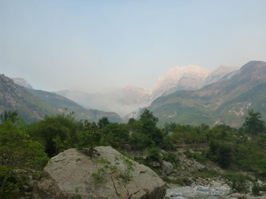Berge von Theth
