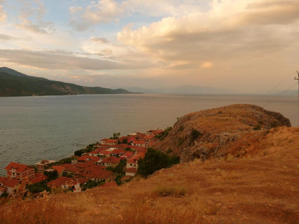 Nachmittag über dem Ohridsee