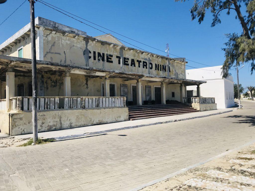 Altes Kino von Ilha de Moçambique