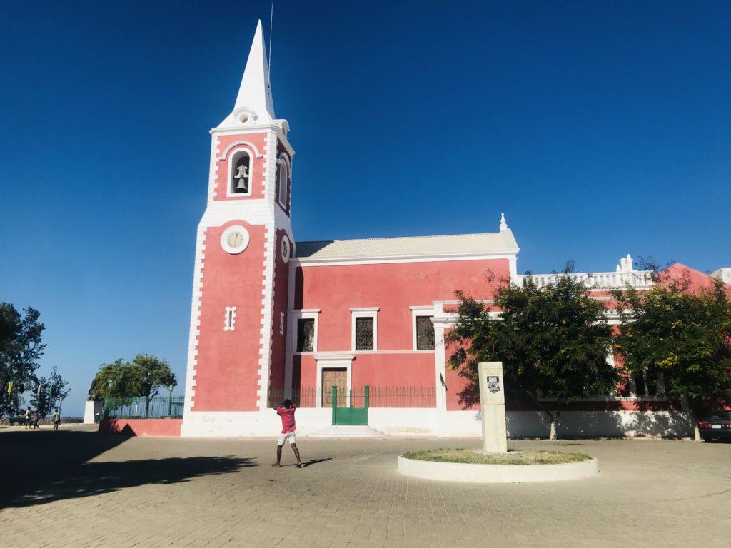 Der Gouverneurspalast auf Ilha de Moçambique