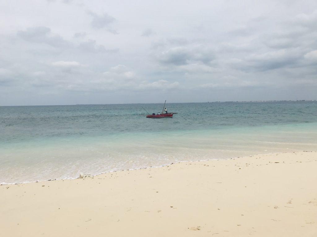 Dhow vor der Insel Goa