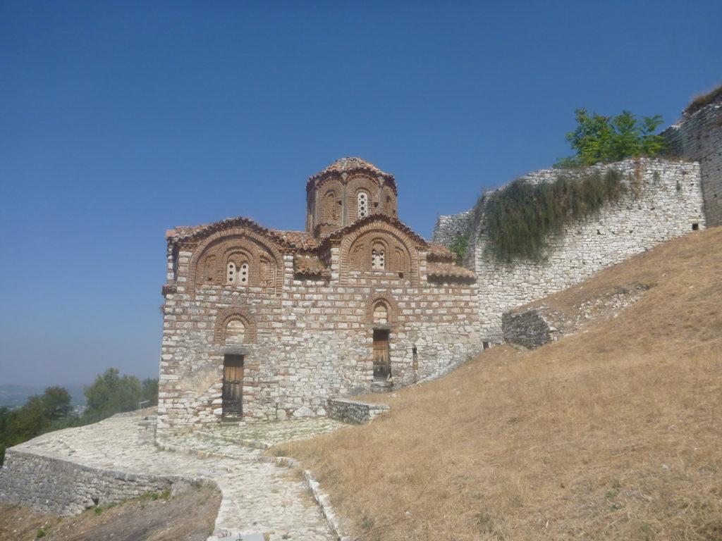Auf der Burg von berat