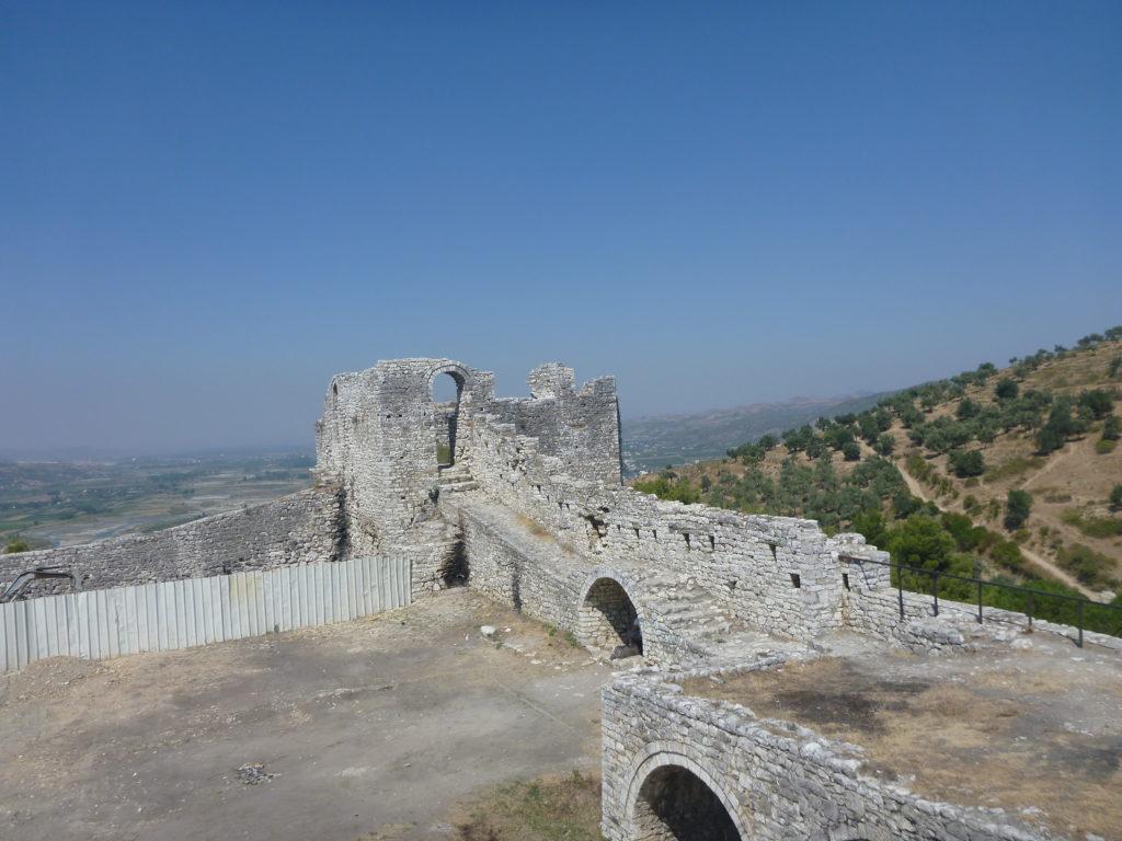 Ruinen der Berat Burg