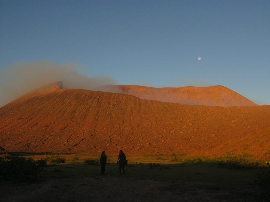 Vulkan Telica bei Leon, Nicaragua