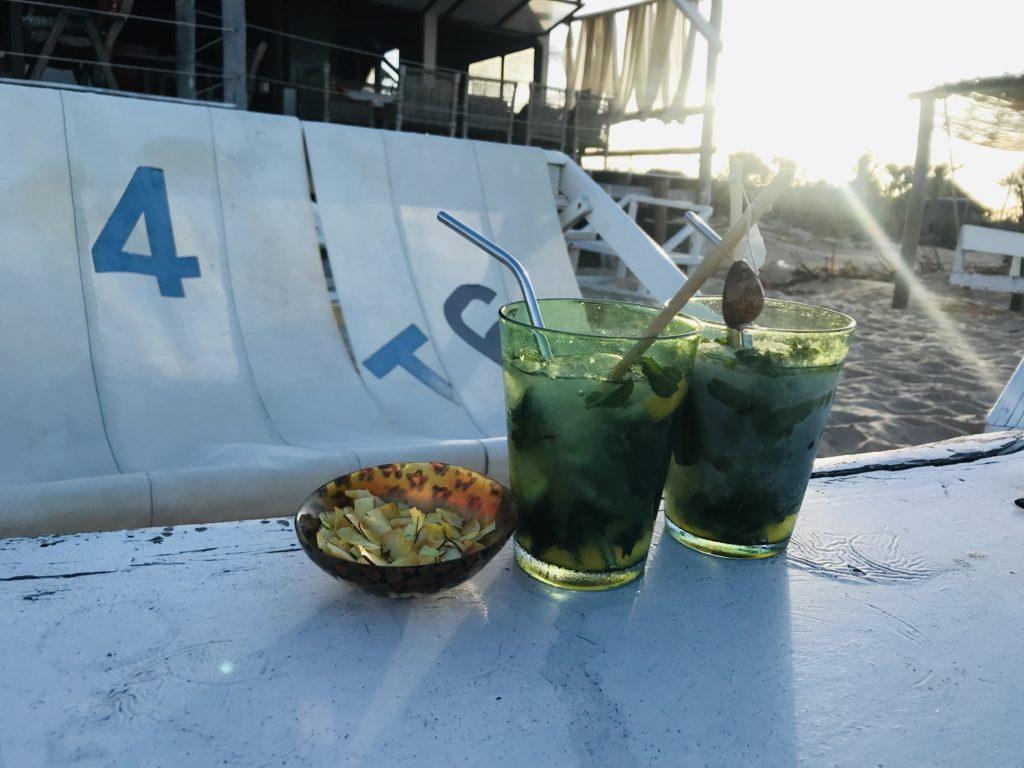 Mojitos und Kokoschips von Green Turtle