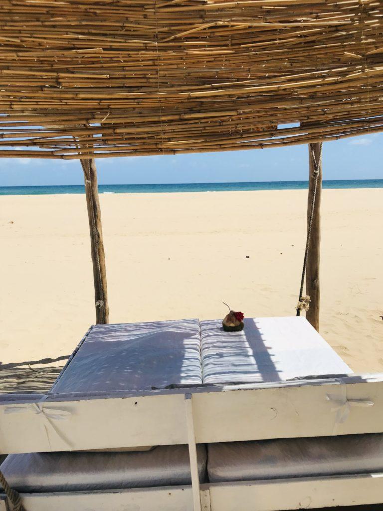 Liege am Barra Beach